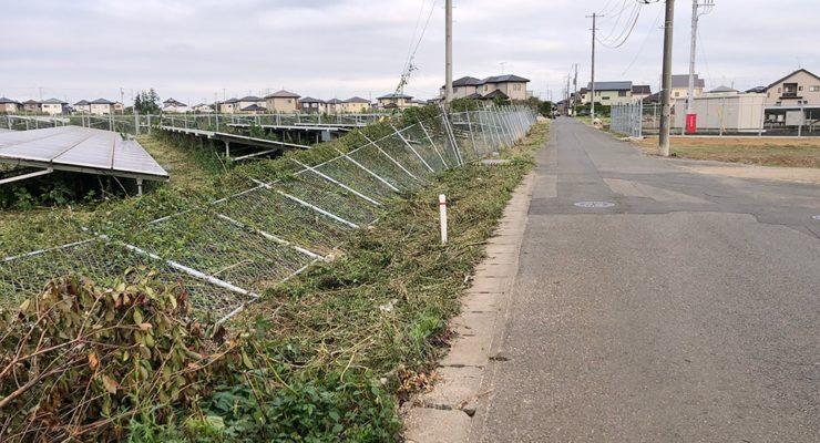台風による損壊